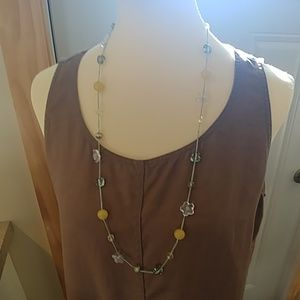 Artisan Handcrafted Art Glass Beaded Necklace
